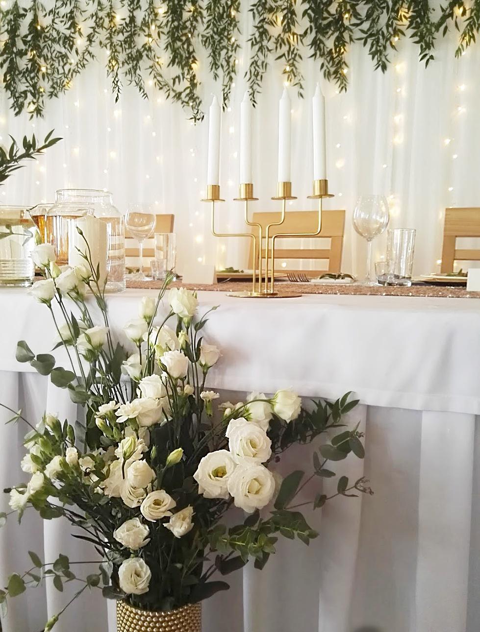 Dekoracja Sali Weselnej Bride Vibes